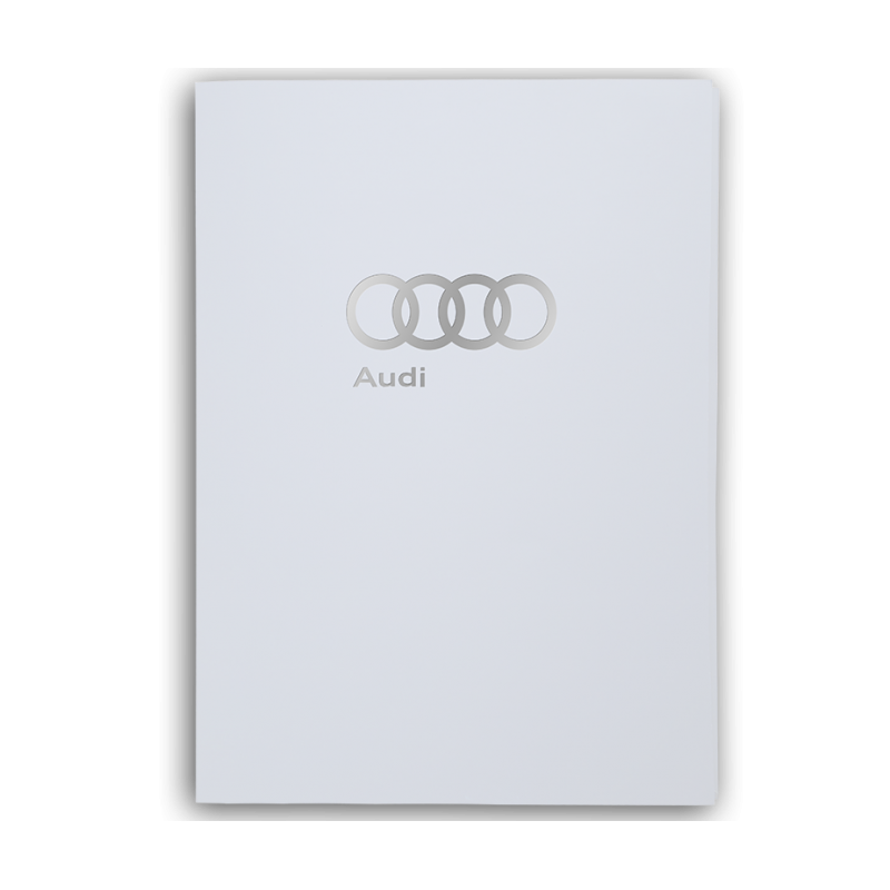 Porte-document blanc